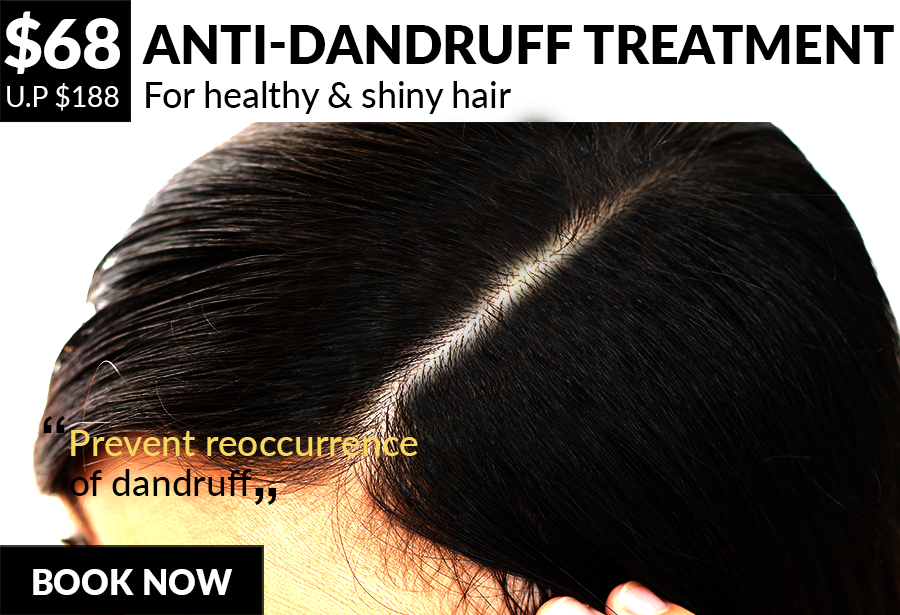 "For healthy & shiny hair ""Prevent re-occurrence of dandruff"""