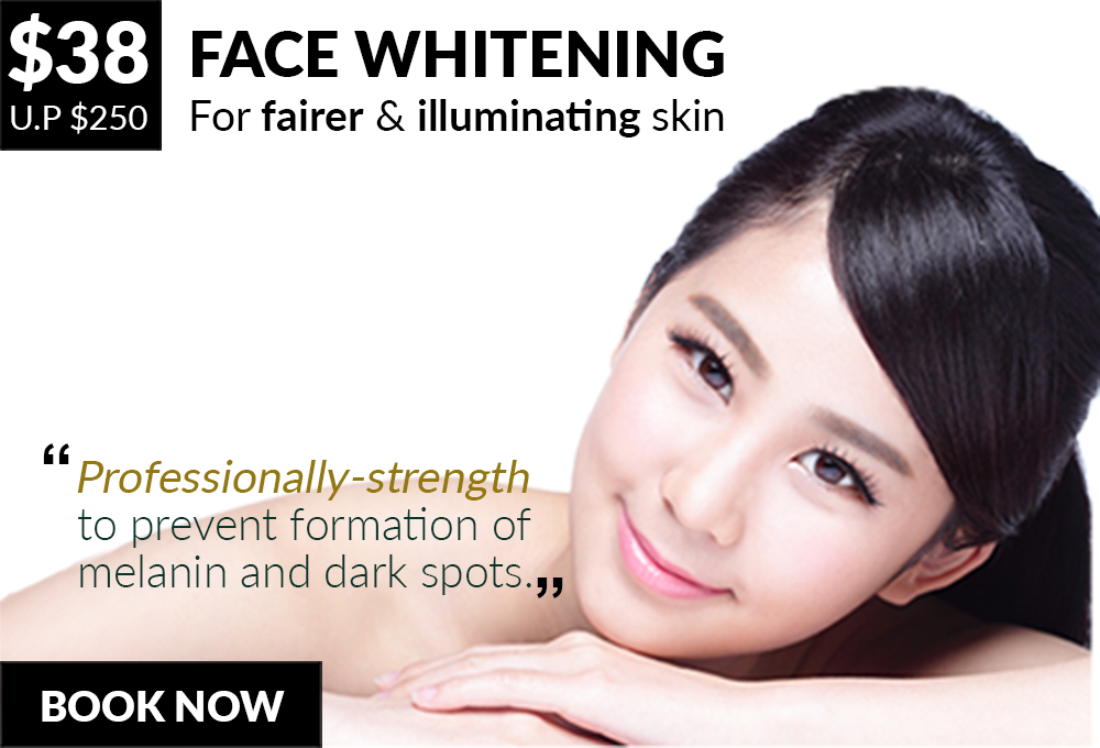 Your solution to fairer, brighter & illuminating skin - 8 Medi Aesthetics Outlets:Somerset,Dhoby Ghaut,Bishan,Clementi,Tampines